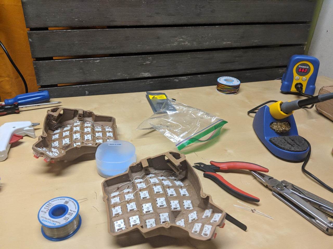 Dactyl Manuform Build Log  U2022 Nick Green